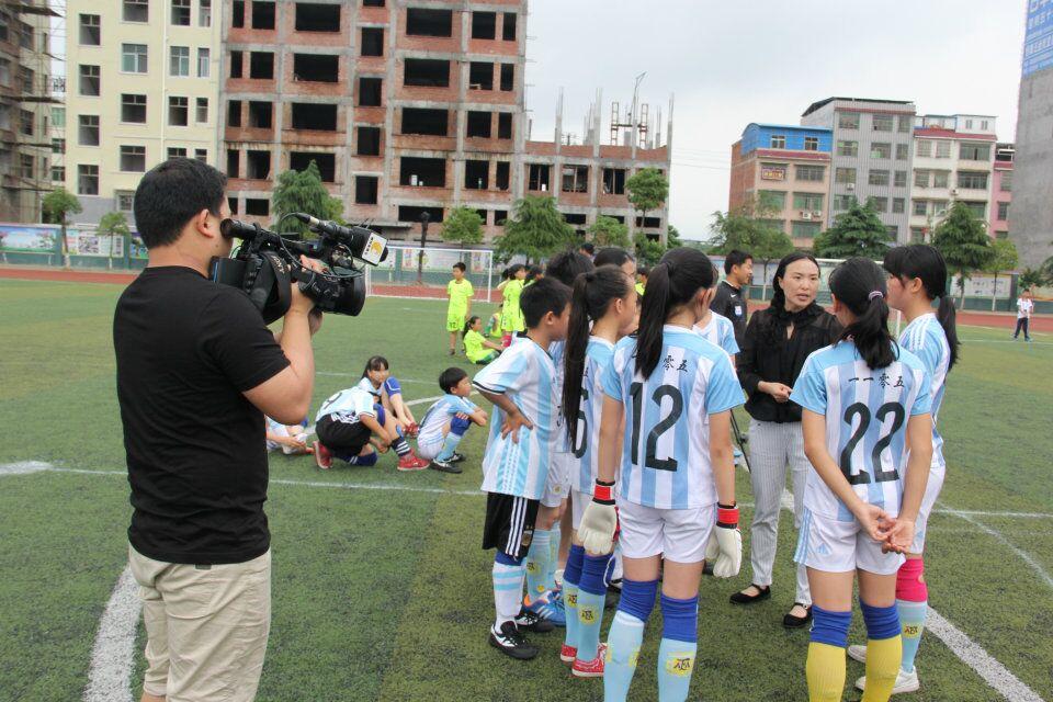 郴州电视台、资兴教育考察团来访